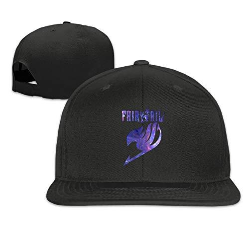 (HiiWorld Cap Baseball Cap Side 3D Printing Fairy Tail Casual Cap Gorras Hip hop Snapback Hats wash Cap Unisex Light)