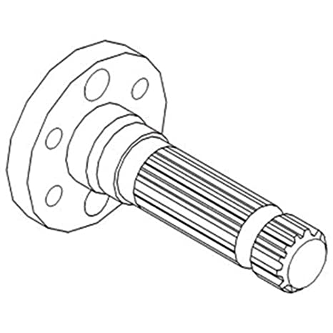 Amazon Com All States Ag Parts Pto Shaft