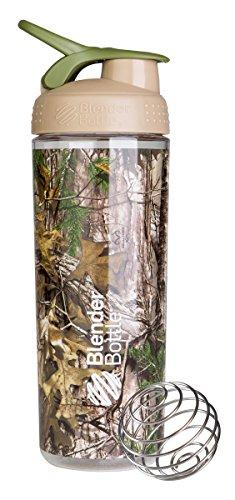 BlenderBottle SportMixer Sleek Shaker Bottle, Realtree Camo, 28-Ounce (Blender Bottle Odor Resistant compare prices)