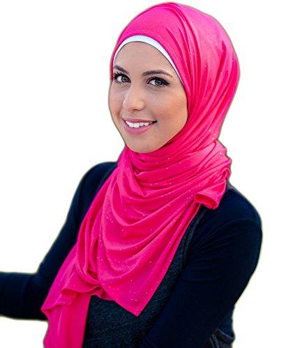 Hijab ista Glitter Jersey Hijab