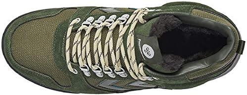 Hummel Nordic Root Forest Sneakers voor heren, groen/bruin, 41 EU