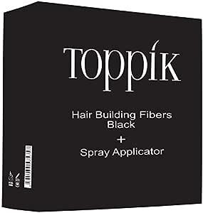 Toppik Hair Fiber Black 27.5g With Applicator