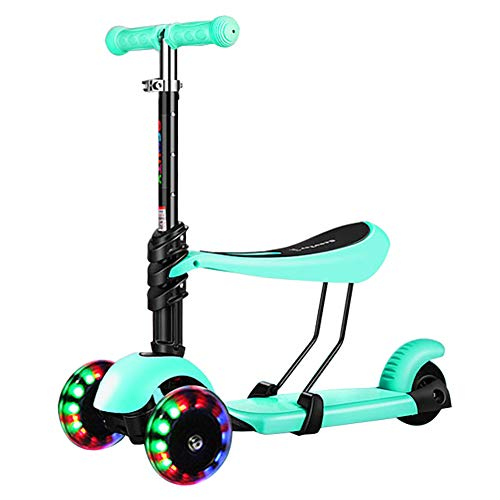 Patinetes clásicos Kids Desmontable Kick Scooter con Asiento ...