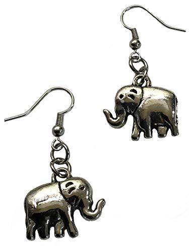 Pewter Silver Tone Elephant