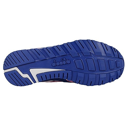 Diadora Unisex Adults' N9000 III Sneaker Low Neck, Blue Blue (Blu Principessa/Rosa Fucsia)
