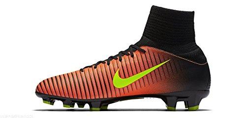 Trainers Junior Football (Nike Junior Mercurial Superfly V FG Football Boots 831943 Soccer Cleats (UK 4 US 4.5Y EU 36.5, Total Crimson Volt Pink Blast 870))