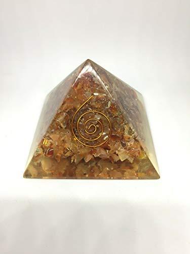 Extar Large 70-75Mm Aventurine Orgonite Pyramid Emf Protection Orgone Energy