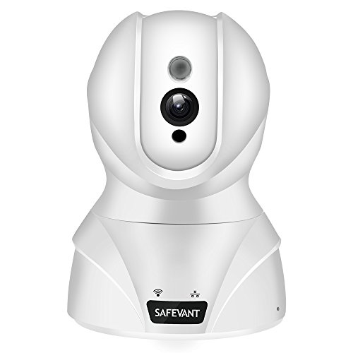SAFEVANT HD WiFi IP Security Camera Wireless Security Camera System Home Monitor with Two-Way Audio Motion Detection Night Vision