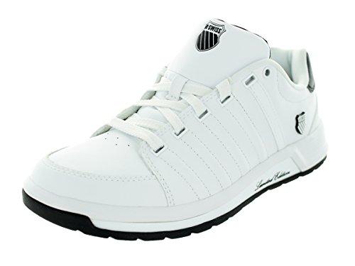 K-Swiss Men's Berlo II Fashion Sneaker,White/Black,8.5 M US