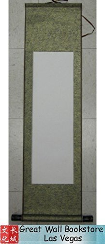 (Blank Scroll for Calligraphy, Paintings... Type P5 Scroll size : 10