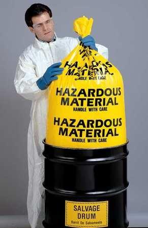 Amazon.com: Bolsas de residuos peligrosos, 30 gales ...