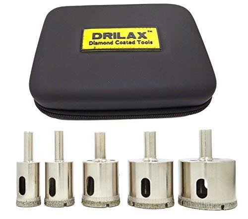 ADDAX WET /& DRY DIAMOND DRILL BITS  PORCELAIN TILE GLASS CERAMICS MARBLE /& SLATE
