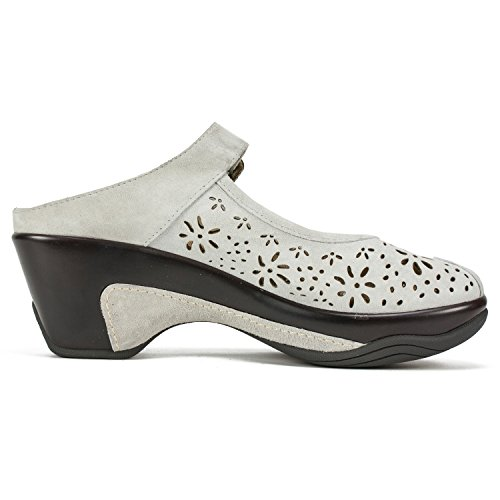 Light Sand Leather MOUNTAIN WHITE Women's Mule 'Miso' XgxqY