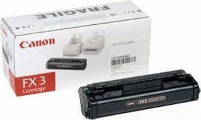 Canon 1557A002 FX-3 - Black - original - toner cartridge - for CFX L3500; FAX L220, L295; FAXPHONE L80; LASER CLASS 1060, 20XX; MultiPASS L60, L90
