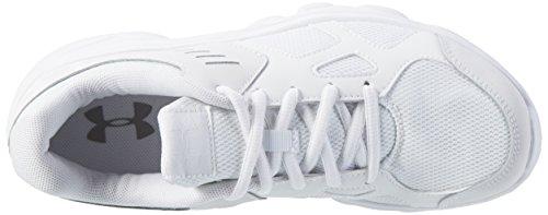Under Armour Gs Pace, Zapatillas de Running Unisex Adulto Blanco (White)