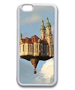 inVC Protector Durable Soft Rubber Case Cover For iPhone 6 TPU Cellphone Back Shell Skin For iPhone 6 With Sky House
