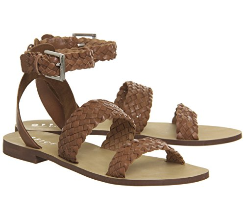 Office Tan Weave Three Springfield Strap Leather Sandals rUnr6w8Oq