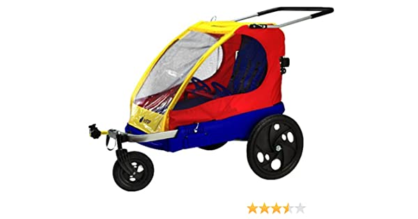 Amazoncom Instep Duocruiser Bike Trailer And Stroller In One