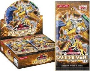 YuGiOh 5D's Raging Battle ENGLISH Booster Box (24 Packs)