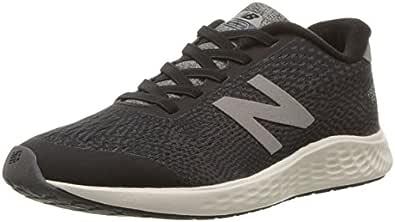 New Balance Boys' Arishi Next V1 Hook and Loop Running Shoe, Black/Magnet, 10.5 W US Little Kid