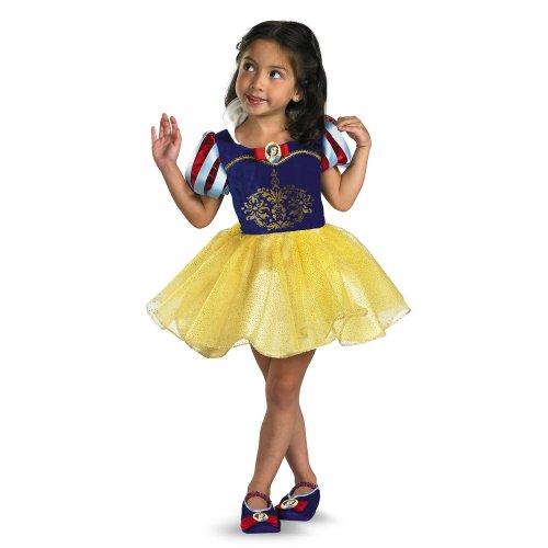 [Snow White Ballerina - Size: 3T-4T] (Disney Dressing Up Costumes)