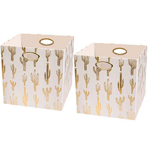 Posprica Storage Cube Basket Bins, 13