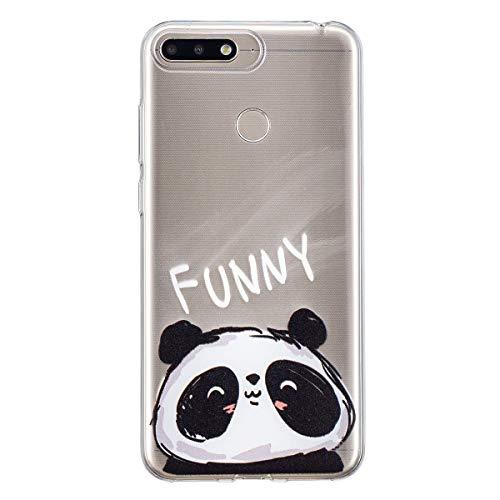 Yoodi Funda Huawei Y6 2018, Carcasa Ultra Fina Silicona TPU Gel Case para Huawei Y6 2018 5.7 Inch Cover Flexible de...