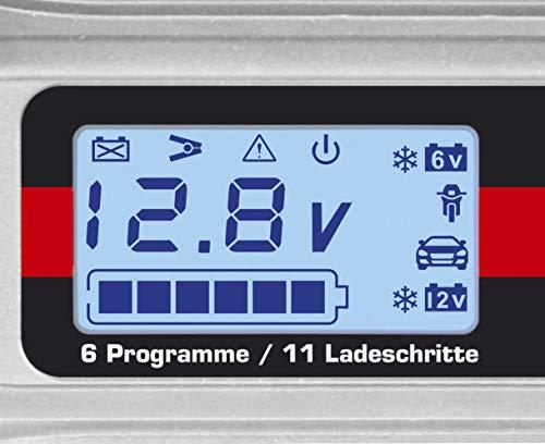 41J2FvLCMCL Dino KRAFTPAKET 136311 4A-6V/12V Batterieladegerät mit Batterietester IP65 für KFZ Auto Motorrard Quad ATV Boot