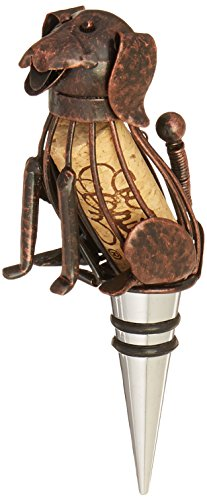 Epic Products Cork Cage Corky The Dog Bottle Stopper, 5.25-Inch