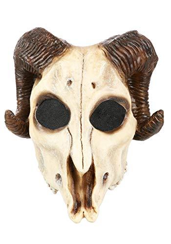 Ram Skull Mask (Ghoulish Masks Ram Skull Adult)
