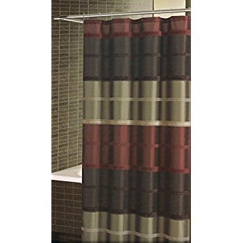 Bombay Shower Curtain Rust 72inx84in