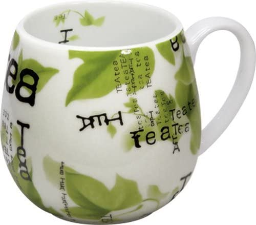 Konitz Tea Collage Special price for a limited time Snuggle Mugs White of Free shipping Set 6