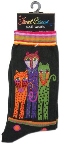 laurel-burch-womens-single-pack-lively-nature-crew-socks-polka-dot-leopard9-11