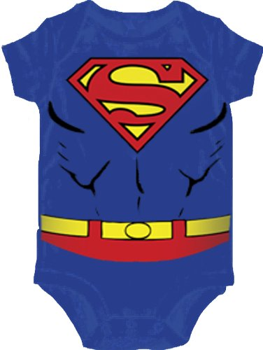 [Superman Costume Infant Snapsuit- 12-18 Months] (Lex Luthor Toddler Costume)