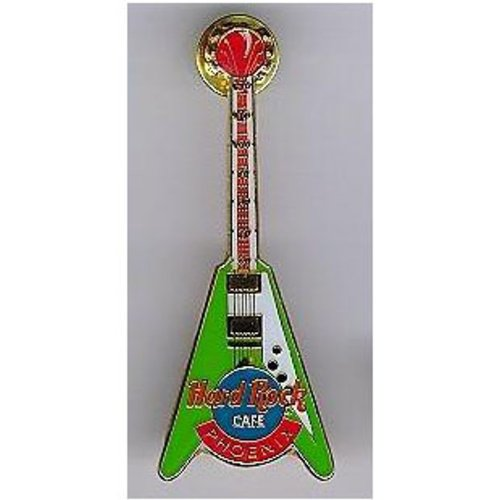 green-white-flying-v-thermometer-guitar-hard-rock-cafe-phoenix-at-camelback