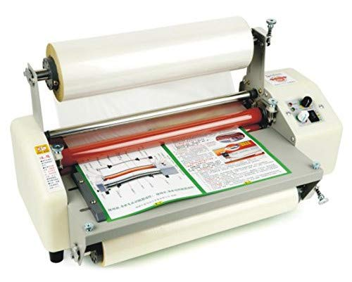 8350T Laminator Four Rollers Hot Roll Laminating Machine 110V   B01N95BZQA