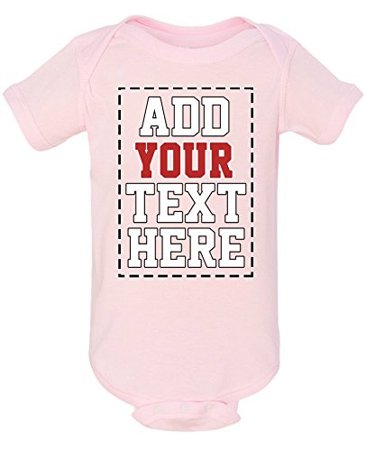 DESIGN YOUR OWN ONESIE - Custom Baby Onesies - Personalized Newborn (Monogrammed Clothes For Kids)