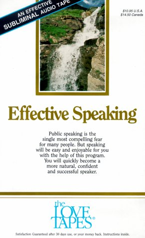 Effective Speaking (Love Tapes)