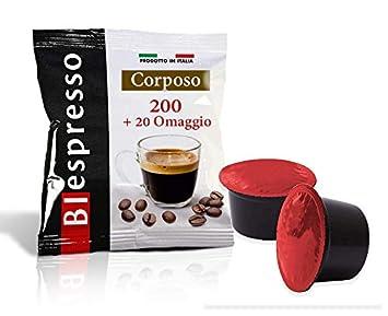 BIespresso Cápsulas Compatibles Lavazza Blue, 200 Café, aroma Corposo, producción propria, marca: Amazon.es: Hogar