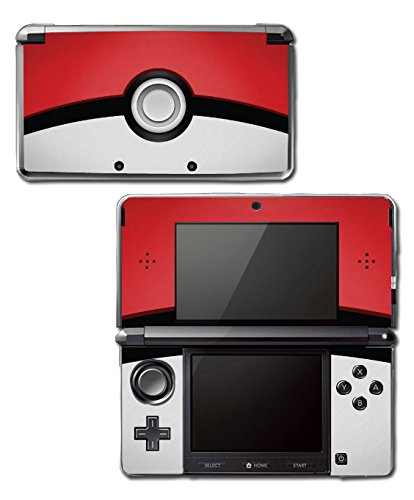 Pokemon Pokeball Pikachu Special Edition Video Game Vinyl Decal Skin Sticker Cover for Original Nintendo 3DS System by Vinyl Skin Designs Nintendo 3ds Skin