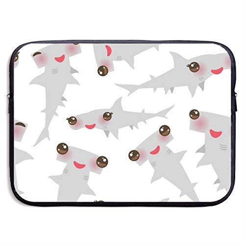 - LiaanQianga Sea Ocean Kawaii Gray Hammerhead Shark 13-15 Inch Laptop Sleeve Bag - Tablet Clutch Carrying Case,Water Resistant, Black
