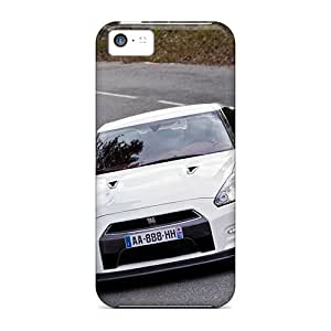 Protective Hard Cell-phone Case For Iphone 5c With Custom Fashion Nissan Gtr Image MansourMurray