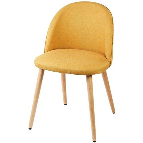 MACARON Chaise de salle a manger pieds bois hetre massif ...