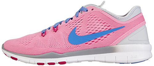 Nike Womens Gratis 5.0 Tr Fit 5 Rose / Polar / Pr Platinum / Frbrry Trainingsschoen 8 Dames Ons