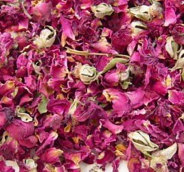 - Rose Buds and Petals Red - 8 oz