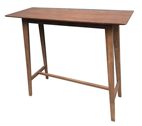 Coaster 101436-CO Rectangular Bar Table, Walnut (Walnut Coasters)