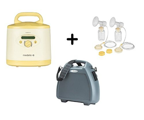Medela Professional Symphony Plus Electric Breast Pump Complete Package, Includes Professional Pumping Kit and Hard Shell Carrying Case (Symphony Plus compare prices)