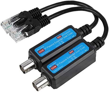 Transmisor coaxial de Red IP pasiva, MAGT 1 par 10 / 100Mbps 1CH ...