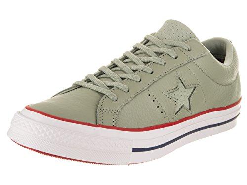 Converse Sage Green - Converse Unisex One Star Ox Surplus Sage/Gym Red/White Casual Shoe 8 Men US / 10 Women US