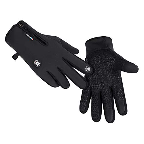 GORELOX Winter Gloves for Men Women,Cold Weather Thermal Glove Windproof Water Resistant,Keep Warm Touch Screen Gloves for Cycling Running Driving